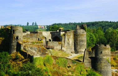 La Roche Castle-Chateaux to Province of Luxembourg