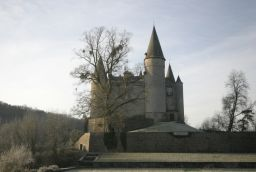 Castle of Vêves in Province of Namur