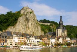Citadel of Dinant in Province of Namur