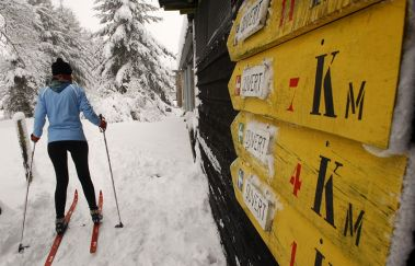 Pistes de ski de fond de Saint-Hubert-Ski de fond to Province of Luxembourg