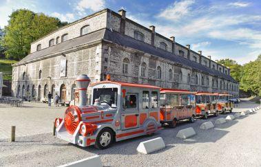 Petit Train de la Citadelle de Namur-Train touristique to Province of Namur