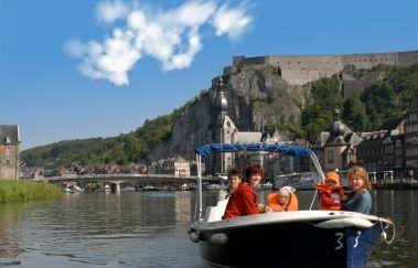 <p>Dinant Evasion: Bateaux sans permis</p>-Location de bateaux to Province of Namur
