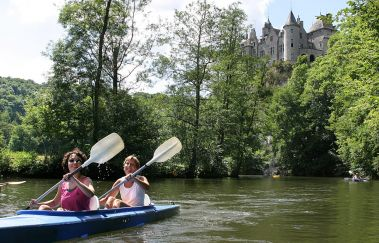 Lesse Kayaks-Kayak to Province of Namur