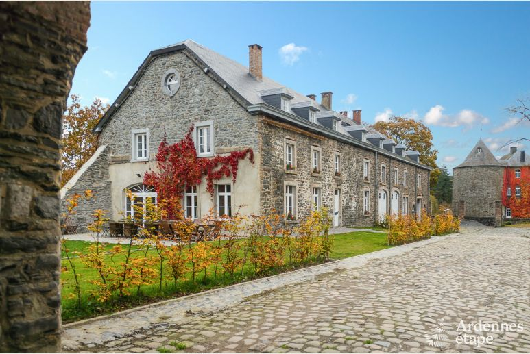 Exceptional 4 Star Holiday Chateau For 30 Persons To Rent In Bastogne