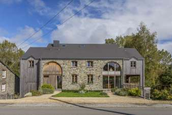 4-star rental holiday house for 15 persons in Jehonville in Belgium