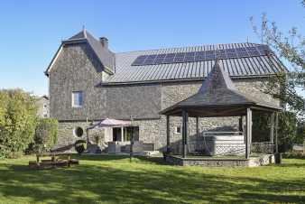 Beautiful holiday home for nine people in Bertrix in the Ardennes