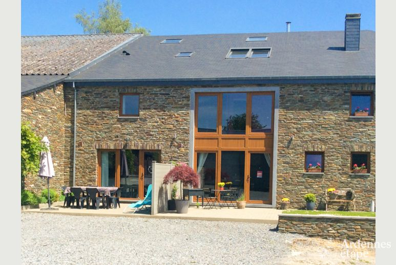 Very cosy 3-star rental holiday cottage for 5 persons in Bouillon