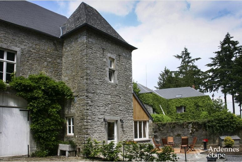 Gite for 6 people in an active castle-farm in Dinant
