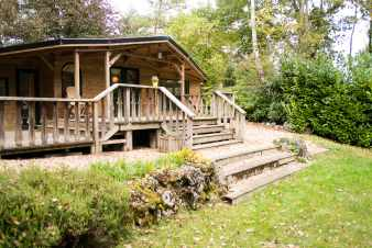 Chalet in Durbuy for 3/4 persons in the Ardennes