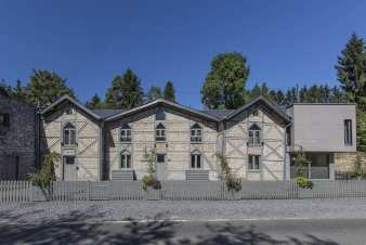 Holiday cottage in Durbuy for 22 persons in the Ardennes