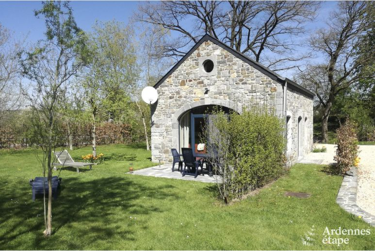 Charming holiday cottage for 2/4 persons in Durbuy