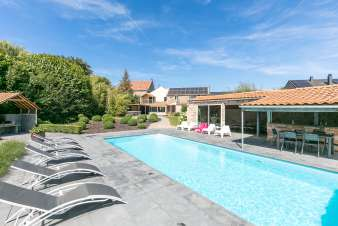 Luxury villa in Durbuy for 11 persons in the Ardennes
