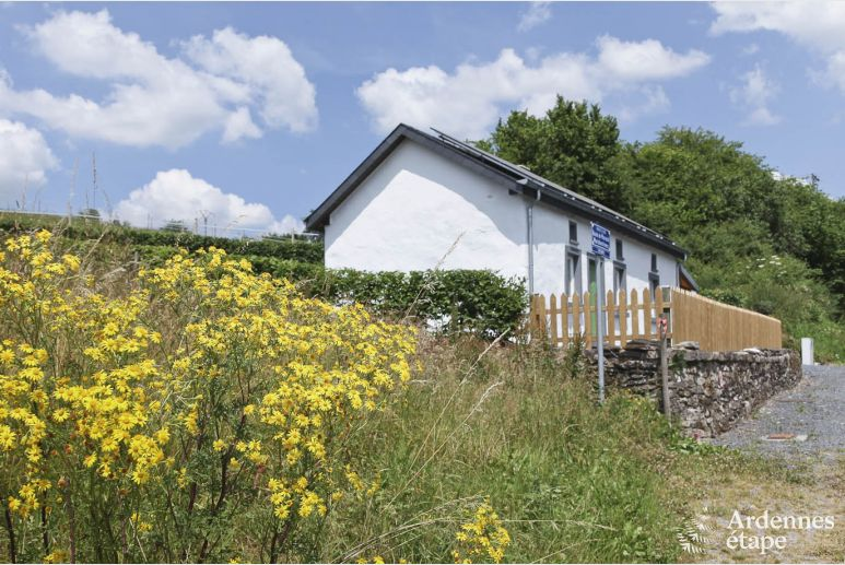 Listed holiday cottage for 4 persons to rent in Fauvillers in the Ardennes