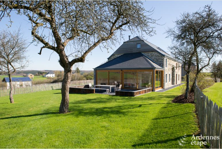 Rental holiday house for 8 persons in Fauvillers in the Province of Luxembourg