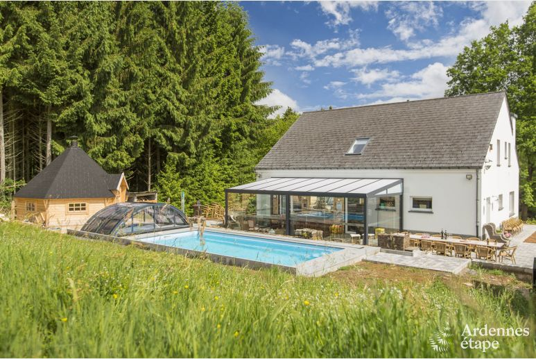 Luxury villa in Houffalize for 14 persons in the Ardennes