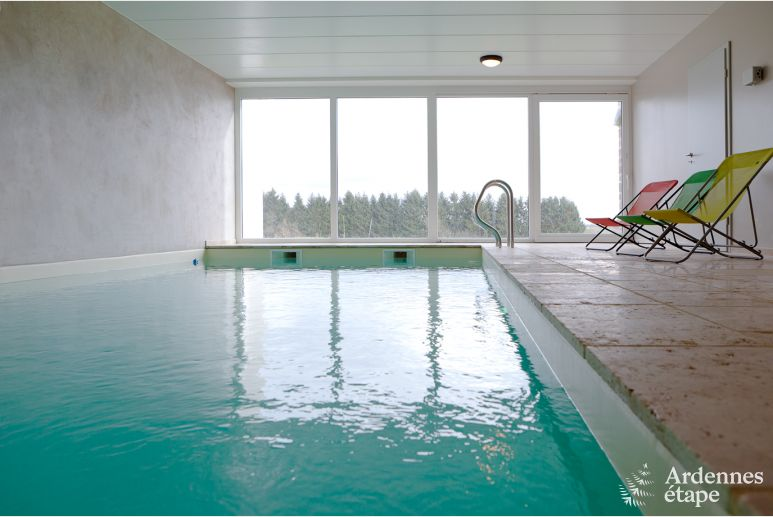 Comfortable 4.5-star holiday home with indoor pool near Houffalize