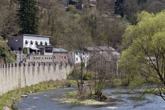 Hotel renovated into large holiday house for 20 per. to rent in La Roche