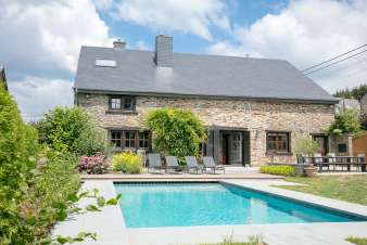 Holiday cottage in Libin for 9 persons in the Ardennes