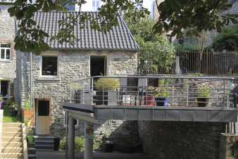 Holiday cottage for 4 persons with view on Limbourg's fort