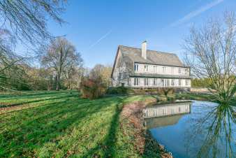 Luxury villa in Ouffet for 9 persons in the Ardennes
