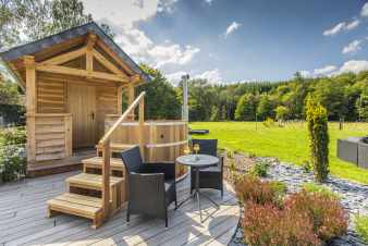 Luxury cottage for ten people in the Ardennes (near Paliseul)