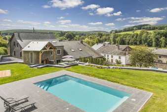 Holiday cottage in Paliseul for 12 persons in the Ardennes