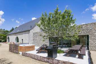 Holiday house for 10 people in Belvaux in the Ardennes
