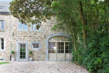 Holiday house for 8 persons near Saint-Hubert in the Belgian Ardennes
