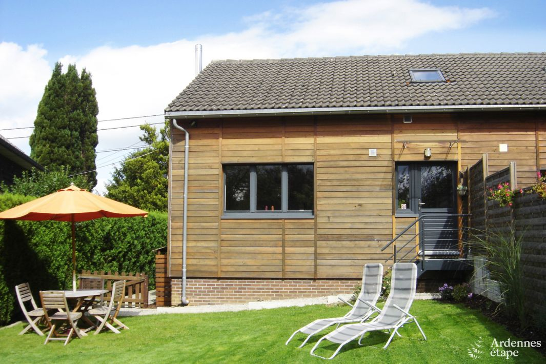 Cosy holiday house for 4 pers to rent in spa dogs allowed for Salon cottage