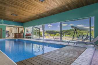 Luxury villa in Spa for 14 persons with high-end equipment