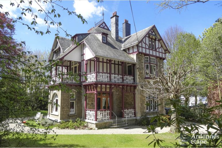 Authentic 3.5-star Ardennes luxury villa for 9 persons to rent in Spa