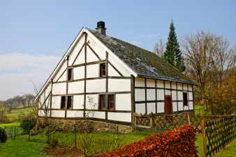 Half-timbered holiday house for 6 persons to rent in Stavelot