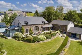 Luxury villa in Stavelot for 10/14 persons in the Ardennes
