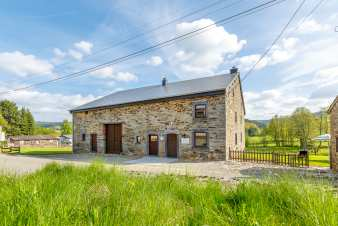Cosy rental farmhouse for 6 pers. near Vielsalm in the Belgian Ardennes